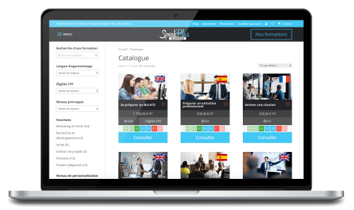 Speakplus tutor catalog